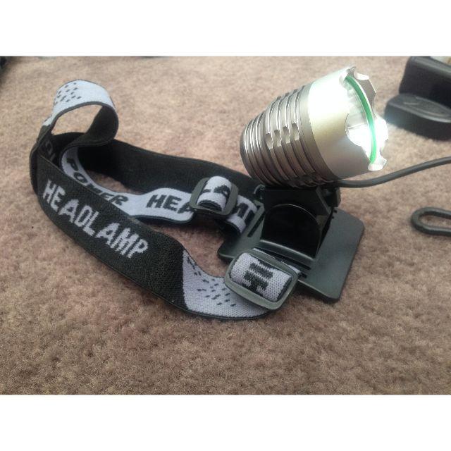 CREE XML-T6 5V 1200LM USB LED Headlamp Headlight Bike Light+Battery Pack+Charger