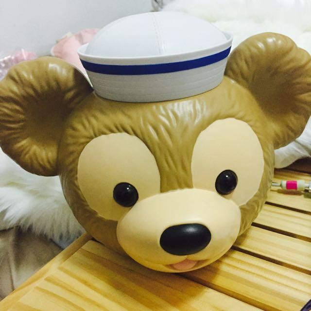 duffy爆米花桶 絕版 日本迪士尼