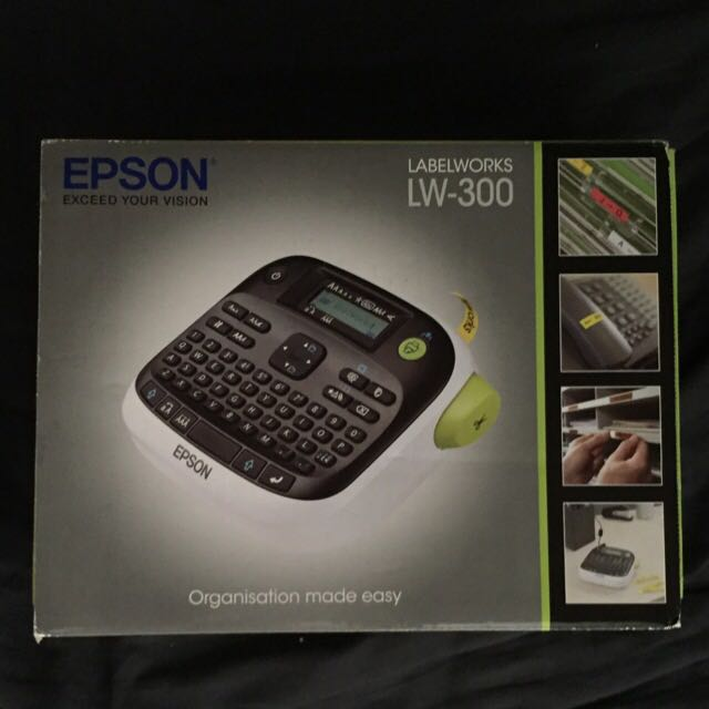 Epson LW-300 Label Maker