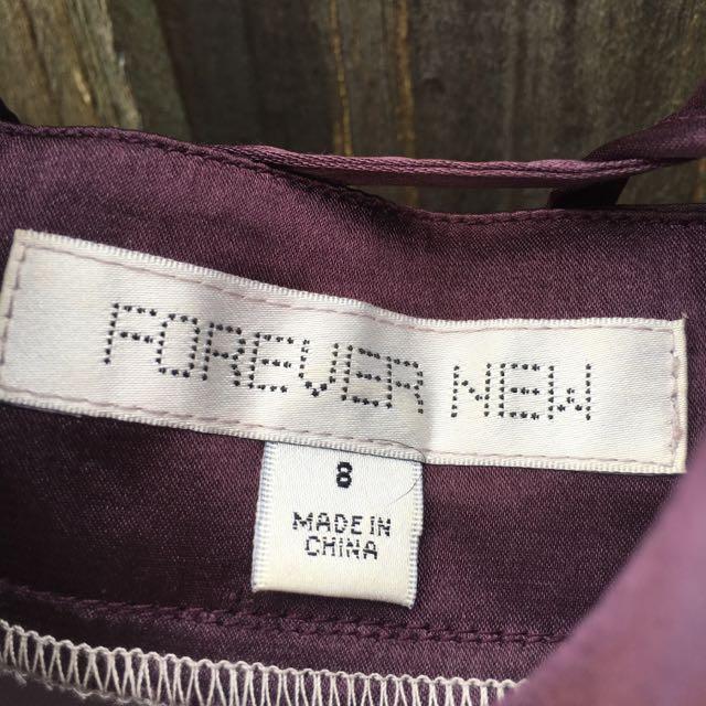 Forever New Chiffon Dress