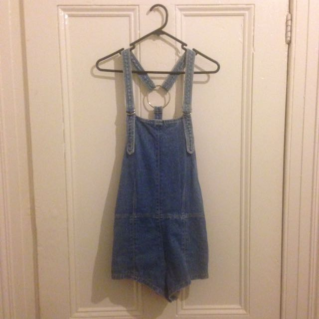 Friend Of Mine Denim Overalls Size 8