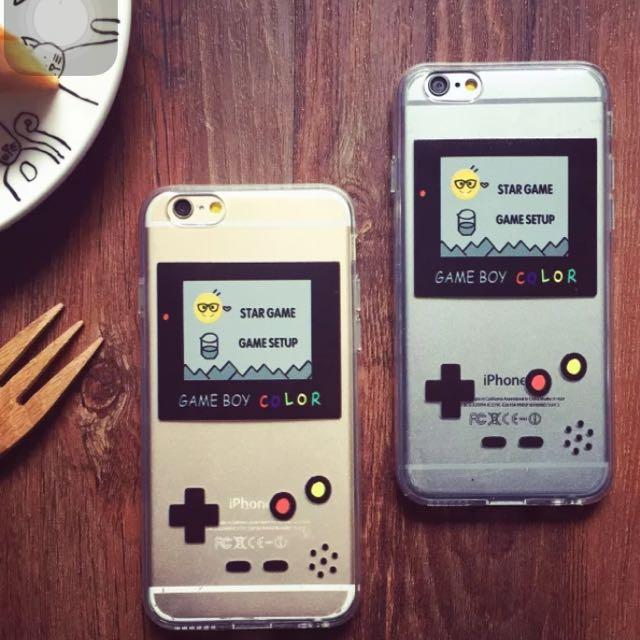 👀Gameboy 掌上型遊戲機 iPhone 6 手機殼