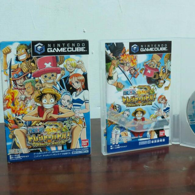 GAMECUBE 海賊王 航海王 遊戲光碟片