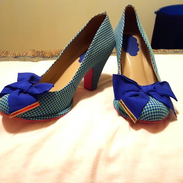Gorgeous Blue Heels