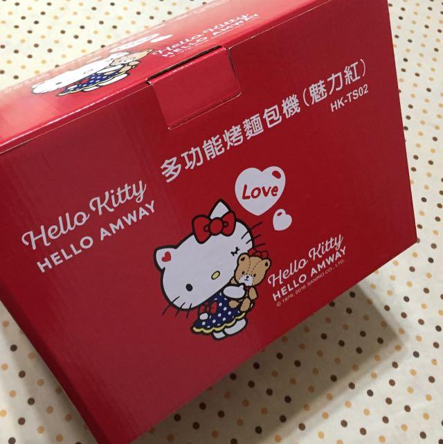 Hello Kitty多功能烤麵包機