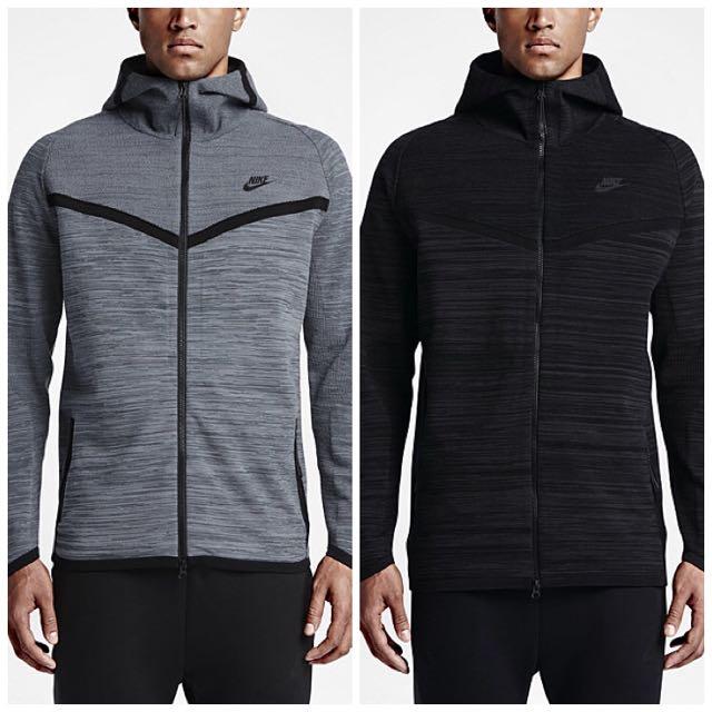 HOT🔥 PO  Nike Tech Knit Windrunner Hoodie Jacket 9466ebfe2