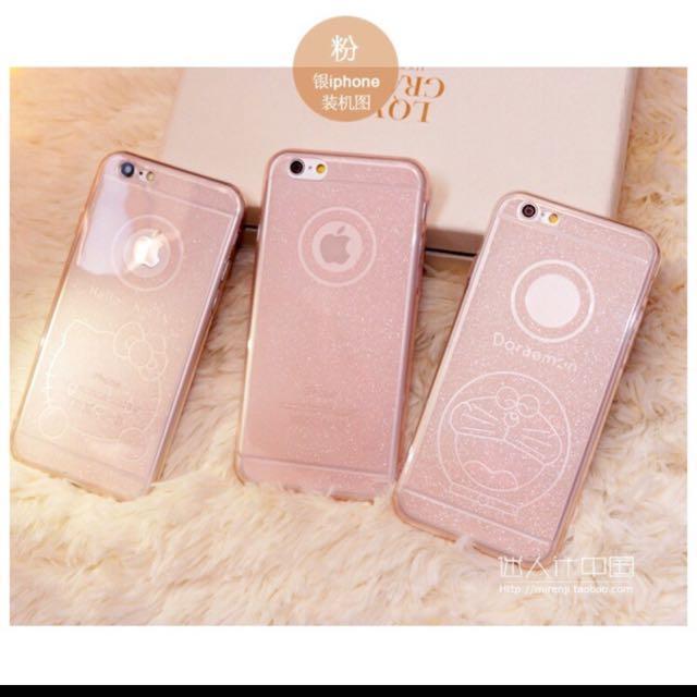 蘋果iphone6 6S 6plus手機殼防摔全包超薄5S矽膠套可愛女新款4.7