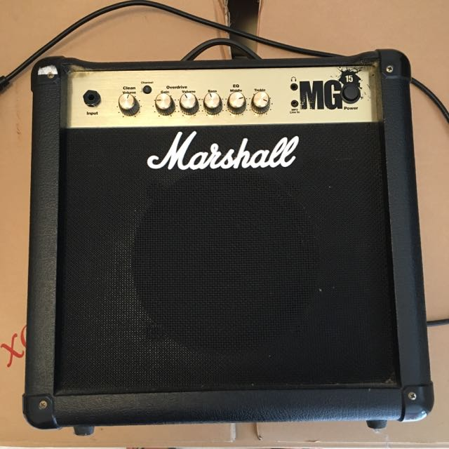 Marshall MG4 Series MG15 15W 1x8 Guitar Combo Amp (Black)