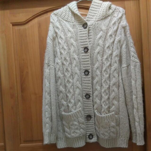 Net針織毛線大衣.外套