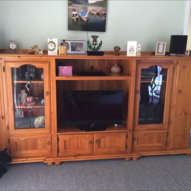 Pine TV Unit/Cabinet