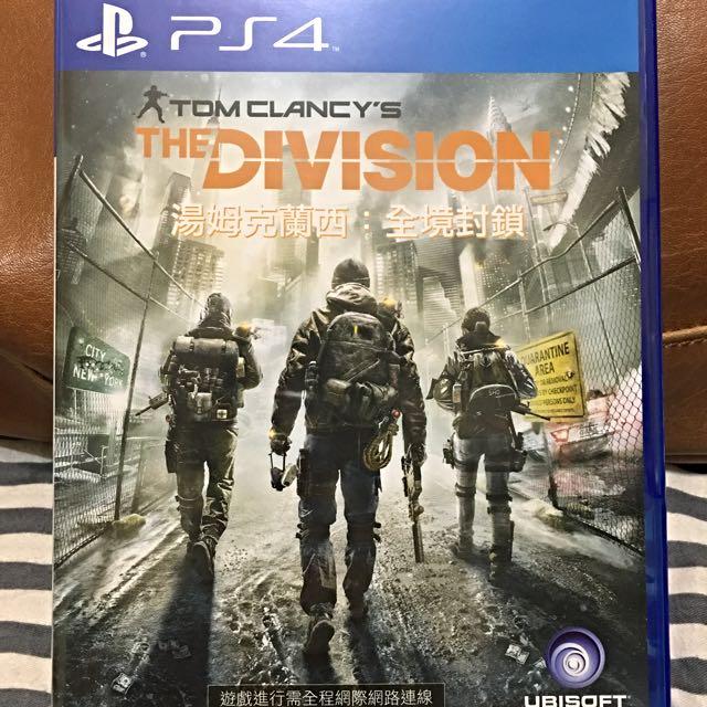 PS4-全境封鎖