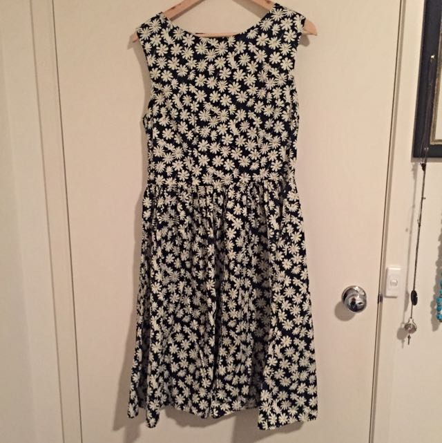 REVIVAL Midi Dress Size 14