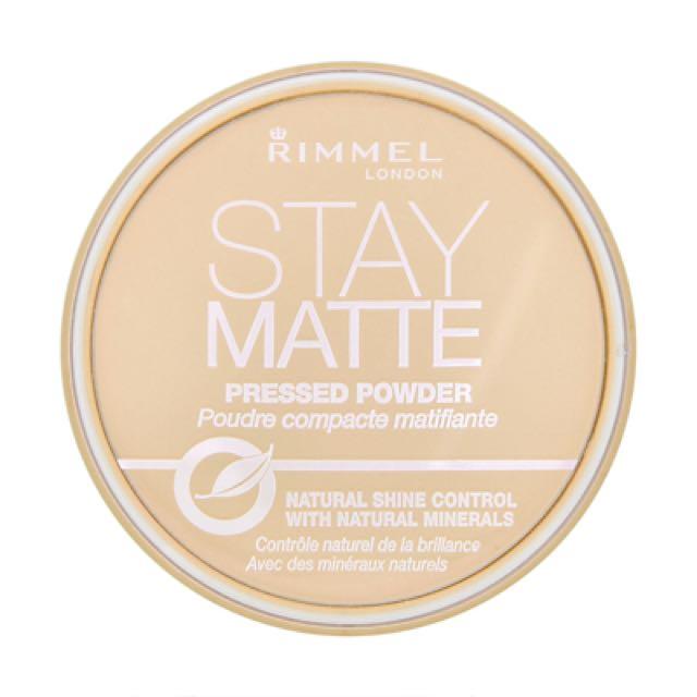 Rimmel Stay Matt 蜜粉