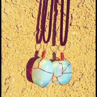 Opalite necklaces