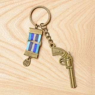 ❤️手槍鑰匙圈