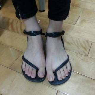 正版哈瓦仕絕版造型涼鞋36,37可穿