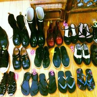 多款正版二手女鞋出售36,37可穿
