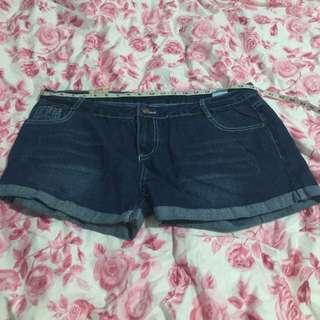 Plus Size Jean Short (BN)