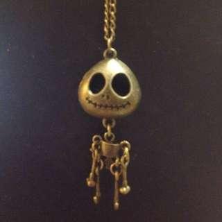 Nightmare before Christmas Jack Skellington necklace