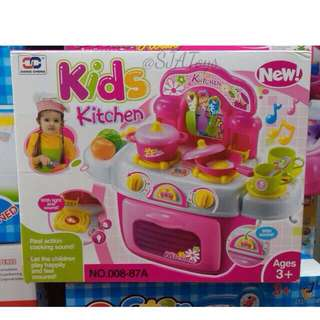 [NEW] Xiong Cheng 008-87 Kids Kitchen Playset