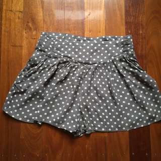 Polka Dot Loose Flowy Shorts