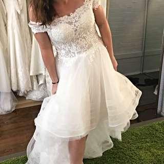 Reduced Wedding Dress! Brand New! Your Evening Dancing Dress!