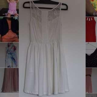 Ally White Dress
