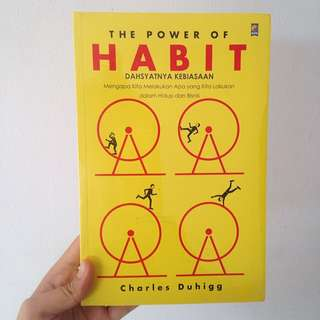(New Segel) The Power Of Habit - Charles Duhigg