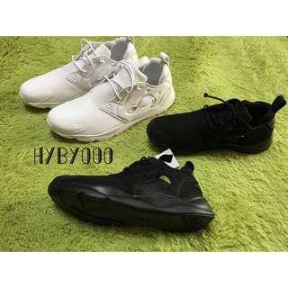 Reebok Furylite V67158 鞋 黑 白