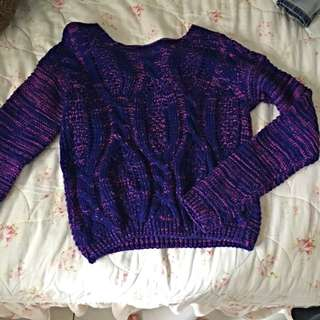 短版針織衣(自行出價