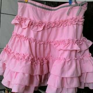 Why1/2 粉色裙子