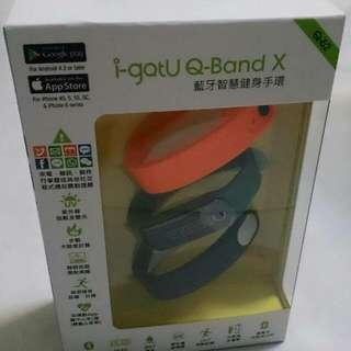 i-gotU Q-Band Q62 藍牙智慧健身手環 路跑必備(全新未拆)