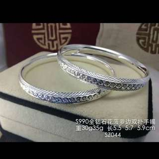 🍒純銀手環