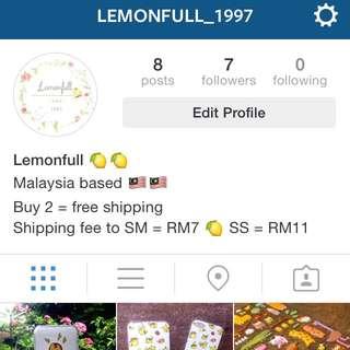New Instagram Shop!