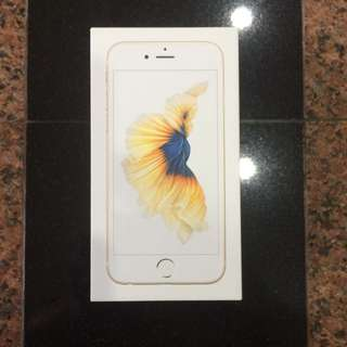 iPhone 6s 128G Gold Brand New