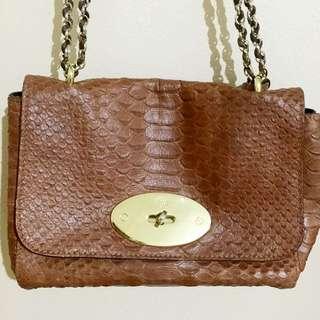 Mulberry Croc-effect Handbag
