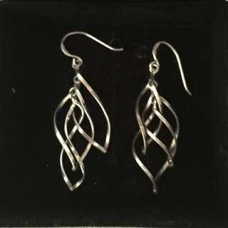 Silver 925 Dangle Earings