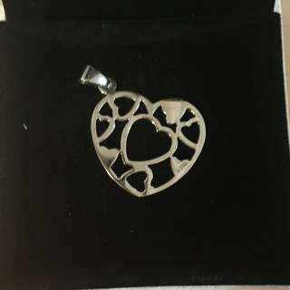 Butterfly Silver Necklace Charm 925