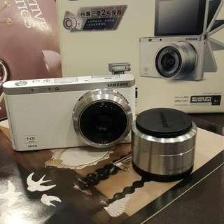 Samsung NX MINI 9MM 定焦鏡翻機自拍機