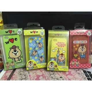 🚚 (二手)Kutaman 熊手機殼 4款合售價wc 熊(建議收藏買家購入)