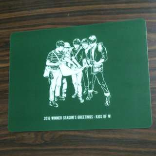 MOUSE PAD - WINNER 2016 Seasons Greeting