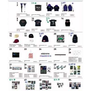 523a7f061f4  PO  WINNER 2016 EXIT Tour in Seoul Official Concert Merchandise