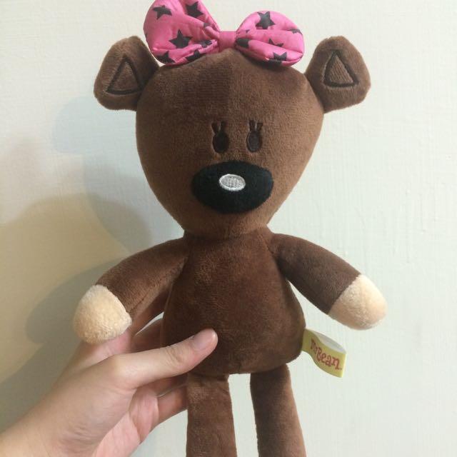 豆豆先生泰迪熊