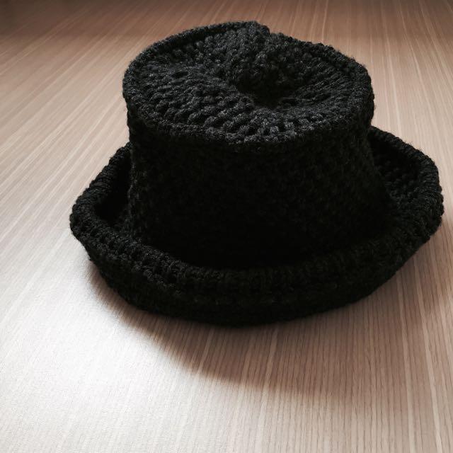 「正韓」粗針織毛線漁夫帽