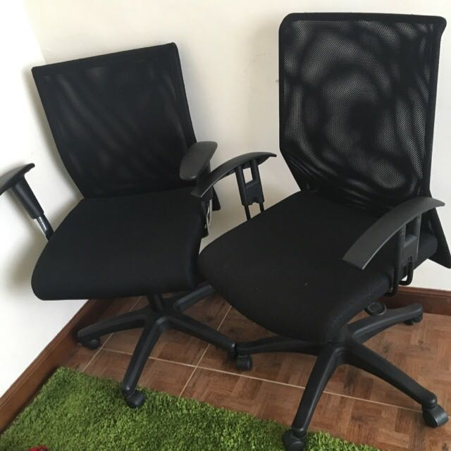 大班椅 辦公椅 Mesh Office Chair x2