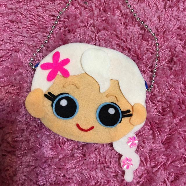 自製 Elsa手提包