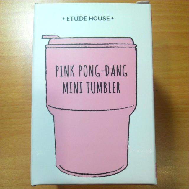 [免運] Etude House 草莓拿鐵隨行杯