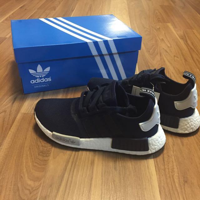 售出/Adidas Original 女鞋 Nmd 深藍 Us5.5/23.5cm