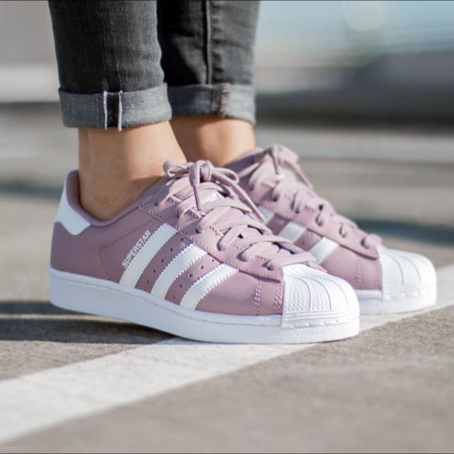 purple adidas originals shoes