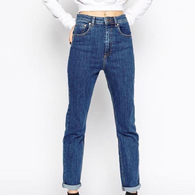 ASOS High Waisted Boyfriend Jeans